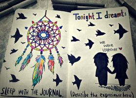 Wreck This Journal - Dreamer by VampiretteKnight