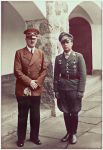 Hitler with Major Helmut Paul Emil Wick by KraljAleksandar