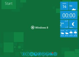 Metro Style Windows 8 Wallpapers by L3M35