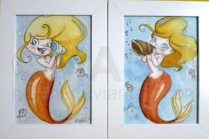 2 Mermaids by mashi