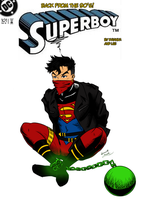 Superboy Issue 101 W.I.P. by darkhawk5