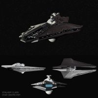 Stalker Class Star Destroyer by SpecterCody
