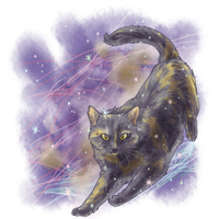 Commission: Space Cloud by aconite-pawlove