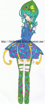 Flower Lolita by Lilytheflower3245