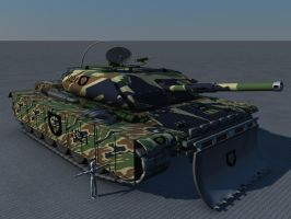 Ultra Heavy Tank WIP Texture1 by m3t4lh34d2666