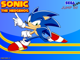 SONIC NEW PICTURE SUMMER by ferni2007001