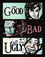 Hyrule's Good, Bad and Ugly by JoseOmatic