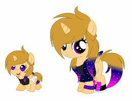 Official Nygon Foal/Filly- Starry Sparkle Wing by DipPineTree