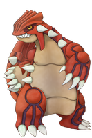 PGS: Groudon by chemicaRouge