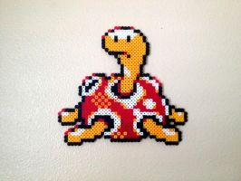 Shuckle - Fuse Beads by chocovanillite