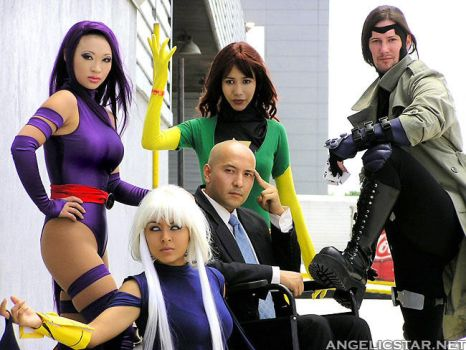 The X Men by yayacosplay