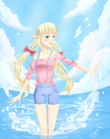 Water splashes (contest entry) by Shou-ryu