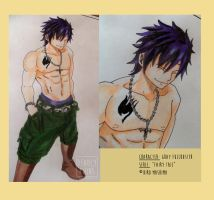 Gray Fullbuster Colored by Deadlytwins