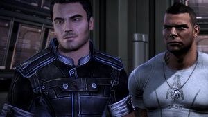 Kaidan and Vega from Mass Effect 3 Demo by dstrawberrygirl