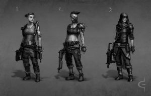 Ladies of the Apocalypse by corndoggy