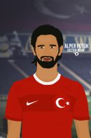Alper Potuk Vector by bluezest1997