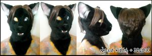 Neybulot Black Cat Head by Magpieb0nes