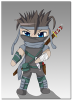 .:Ninja Chibiness:. by Damaged927