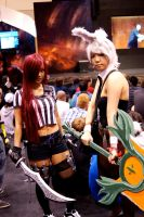 Red Card Katarina and Battle Bunny Riven #2 by Lightning--Baron