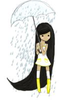 I love rain! by tevyclemmons