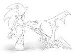 Parasyte_sonic by f-sonic