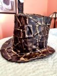 Metal Plate Steampunk top hat by Propagations