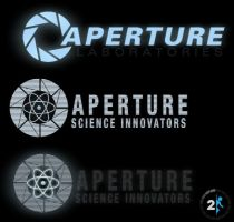 Portal 2 Logo Walls + Elements by SuprVillain
