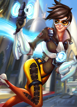 Tracer Here! by SilverSkittle