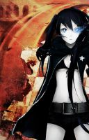BLACK ROCK SHOOTER by VL-Arancia