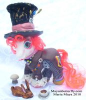 Mad Hatter Custom Little Pony by mayanbutterfly
