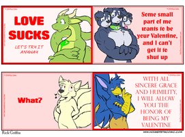Housepets Valentines 2014! by RickGriffin