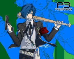 persona 3 hero by SERENOA