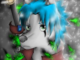 My character hakubi (With Video On YT) by kevinskylet111999