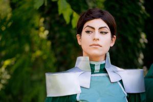 Kuvira - The Legend of Korra by claryketchup