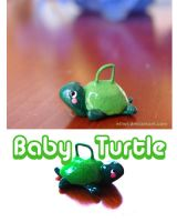 Baby Turtle by Eliwi