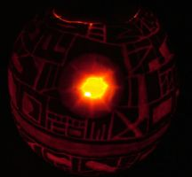 Death-O'-Lantern Illuminated by graphicpoetry
