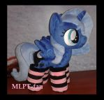 filly Luna in socks by MLPT-fan