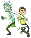 It's Just Rick and Morty by BlackRayquaza1
