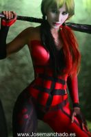 Harley Quinn Bodypaint by Jose Manchado by Morganita86