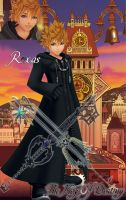 Roxas In Twilight Town by Wings-of-Sapphire
