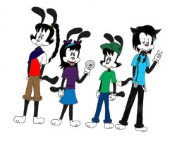 Animaniacs OCs revamped-done by JDE10