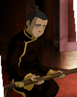 Sokka's Master - Kneel by Cloud-S