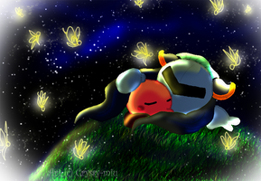 Tranquility Of The Fireflies by gembutterfly