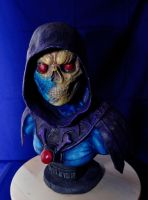 Skeletor Bust Colored 02 by Kom-Studios