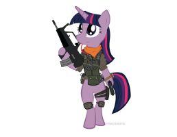 MW3 Twilight Sparkle by AstralBeast