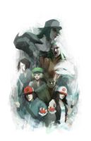 Pokemon Generation V by Alex-Chow