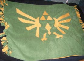 Triforce Lap Blanket by Willowanderer