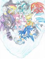 The NEW Sonic Heroes by thesoniczone11