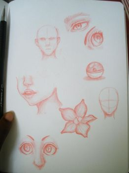 Daily sketches 01 by QueenOfSpade
