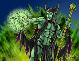 Maleficent by aneros
